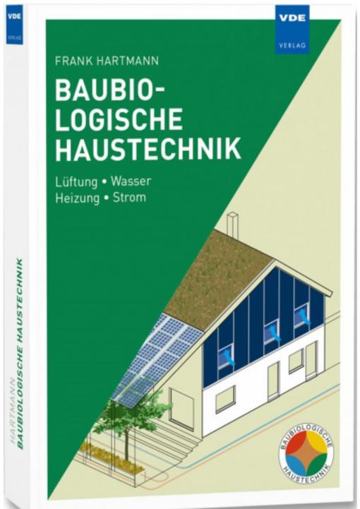 """Cover """"Baubiologische Haustechnik"""""""