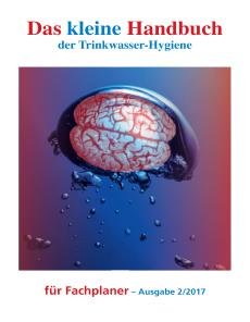 Das kleine Handbuch der Trinkwasser-Hygiene für Fachplaner