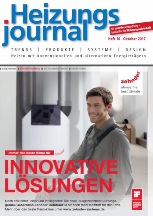 Cover HeizungsJournal 10/2017