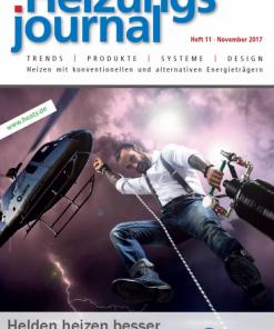 Cover HeizungsJournal 11/2017
