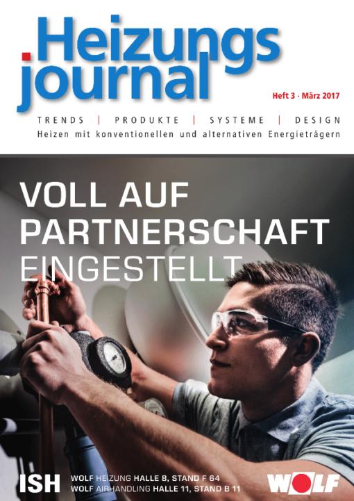 Cover HeizungsJournal 3/2017