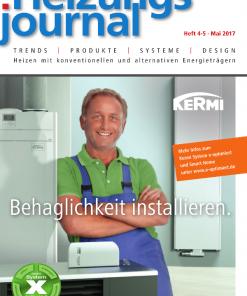 Cover HeizungsJournal 4-5/2017