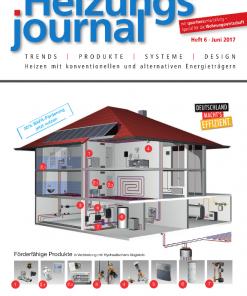 Cover HeizungsJournal 6/2017