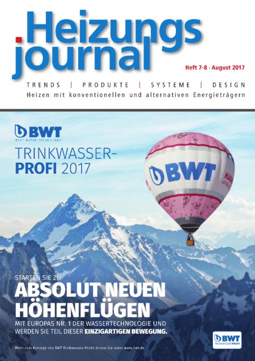Cover HeizungsJournal 7-8/2017