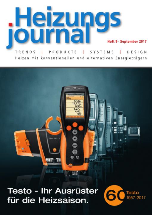 Cover HeizungsJournal 9/2017