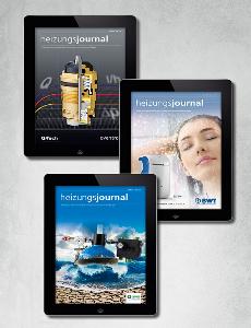 Key Visual HeizungsJournal E-paper-Abo