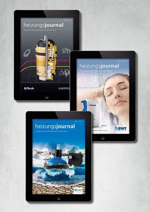 Key Visual HeizungsJournal ePaper-Abo