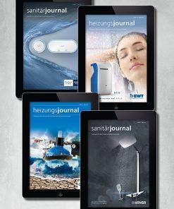 Key Visual HeizungsJournal SanitärJournal Kombi-Abo