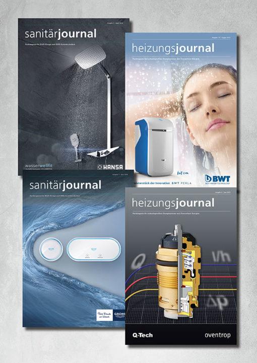 Key Visual HeizungsJournal SanitärJournal Print-Abo