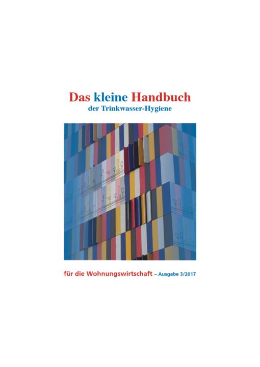 Cover des Kleinen Handbuchs der Trinkwasserhygiene