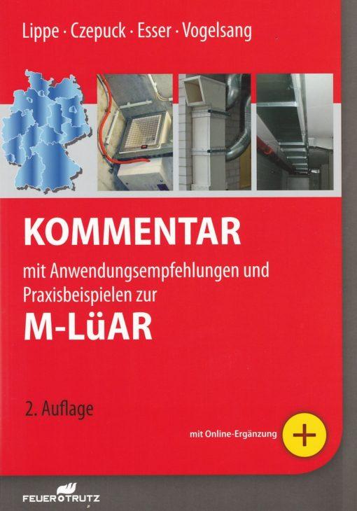 """Cover """"Kommentar MLüAR"""""""