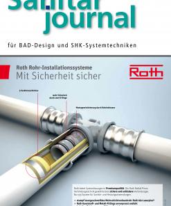 Cover SanitärJournal 6/2017