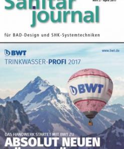 Cover SanitärJournal 2017