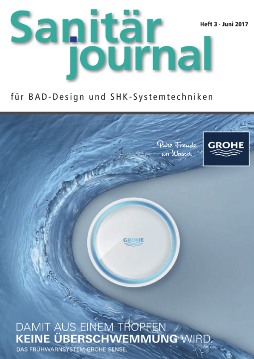 Cover SanitärJournal 3/2017