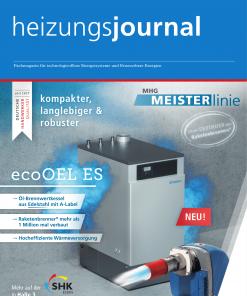 Cover HeizungsJournal 1-2/2018