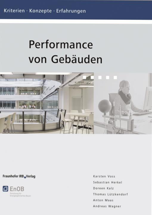 """Cover """"Performance von Gebäuden"""""""