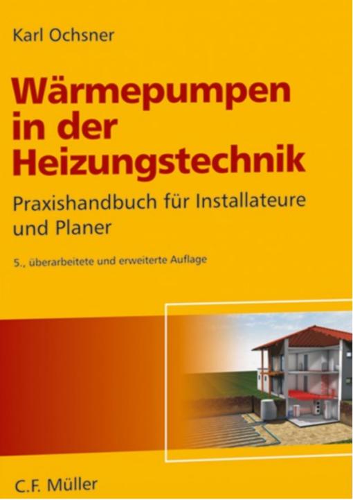 """Cover """"Wärmepumpen in der Heizungstechnik"""""""