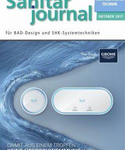 Cover Sonderheft Installationstechnik Sanitär 2017