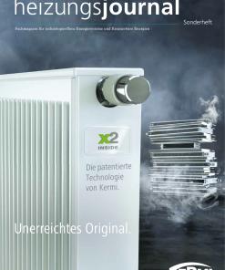 Cover Sonderheft Installationtechnik Heizung 2018