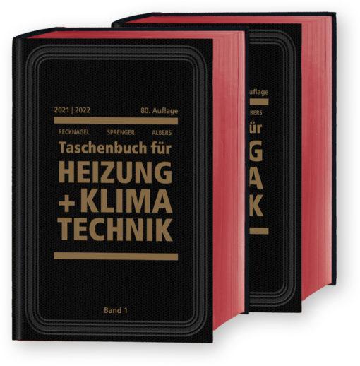 Taschenbuch für Heizung + Klimatechnik 2021/2022