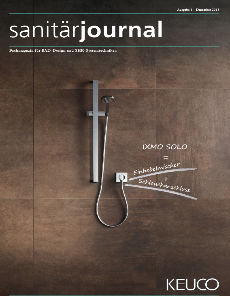Cover SanitärJournal 6/2018