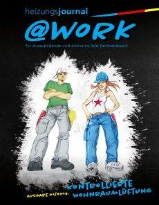 Cover @work Ausgabe März/2019
