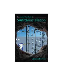 Cover Kleines Handbuch Sanitärinstallation - Vorwandtechnik